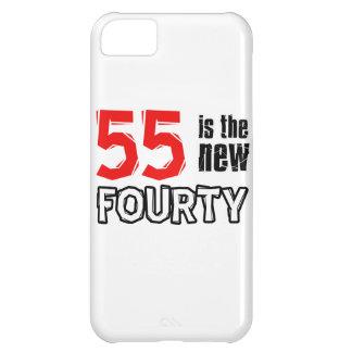 55th birthday designs iPhone 5C cases