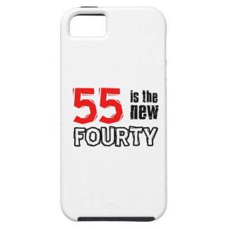 55th birthday designs iPhone SE/5/5s case