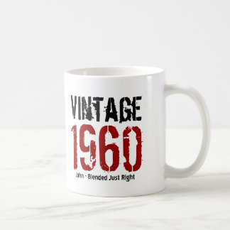 55th Birthday Vintage 1960 or Any Year V01K1 Coffee Mug