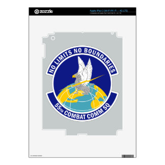 55th Combat Communications Squadron Skin For iPad 3