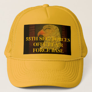 55TH SEC. FORCES OFFUTT AIR FORCE BASE TRUCKER HAT