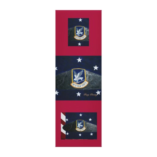 55th Security Forces Gallery Wrap Canvas