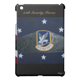 55th Security Forces iPad Mini Covers