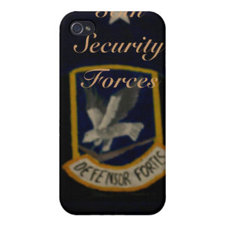 55th Security Forces iPhone 4/4S Cases