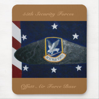 55th Security Forces Mouse Pad