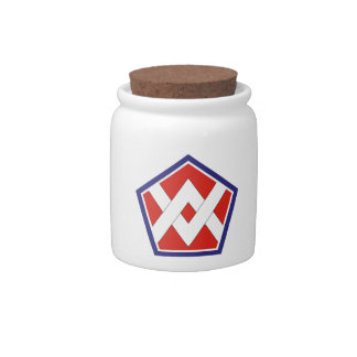 55th Sustainment Brigade Candy Jars