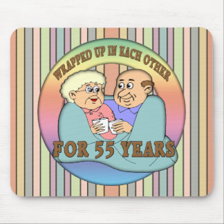 55th Wedding Anniversary Gifts Mouse Pad