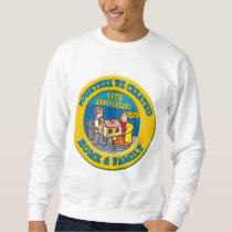 55th Wedding Anniversary Gifts Sweatshirt
