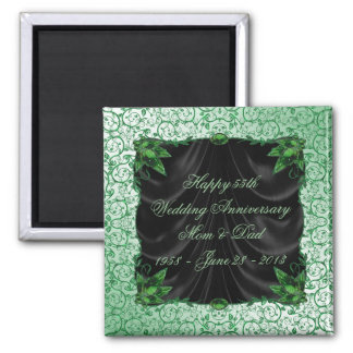 55th Wedding Anniversary Magnet