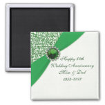 55th Wedding Anniversary Magnet Fridge Magnet
