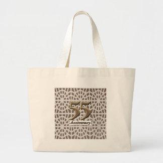 55thanniversary3 jumbo tote bag