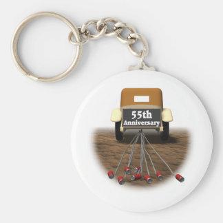 55thanniversaryt-shirts3 basic round button keychain