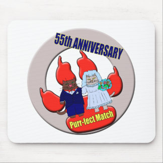 55thanniversaryt-shirts mouse pad