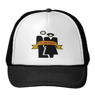55thweddinganniversaryb2 trucker hat