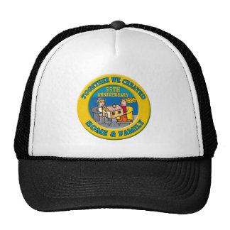 55thweddinganniversaryb6 trucker hat