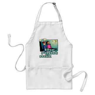 55thweddinganniversaryb7 adult apron