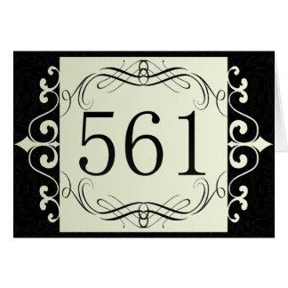 561 Area Code Greeting Card