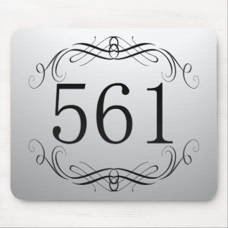 561 Area Code Mouse Pad