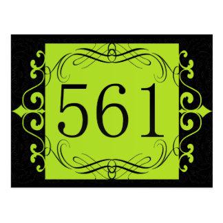 561 Area Code Postcard