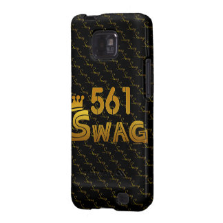 561 Area Code Swag Galaxy SII Cover