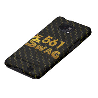 561 Area Code Swag Galaxy SII Cases