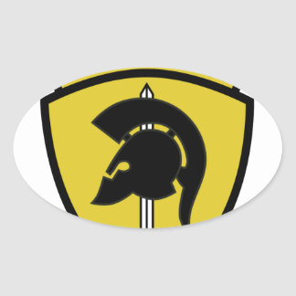 561st Tactical Fighter Squadron Patch Oval Sticker