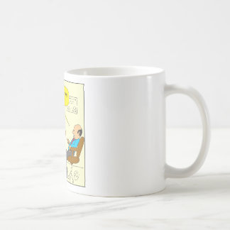 562 Easter egg inner self cartoon Coffee Mug