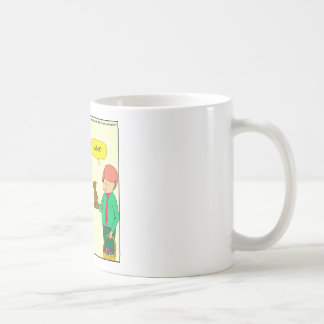 564 Easter bunny says what cartoon Coffee Mug