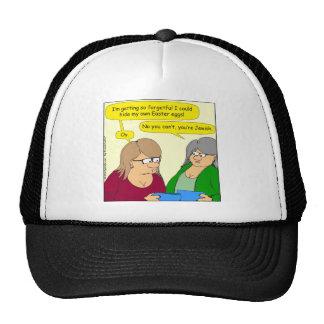 565 so forgetful cartoon trucker hat