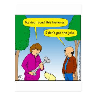 566 mi perro encontraron este dibujo animado chist tarjeta postal