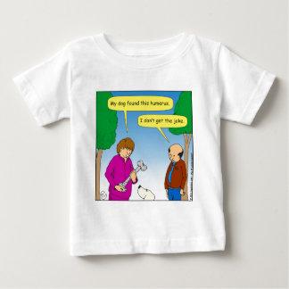 566 My dog found this humorous cartoon Baby T-Shirt