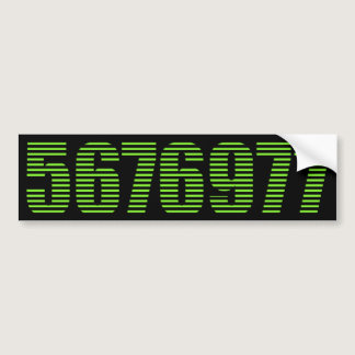 5676977 lines bumper sticker