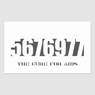 5676977 - The Cure (add own text) Rectangular Sticker