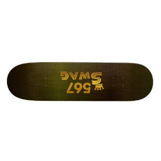 567 Area Code Swag Skateboard Deck