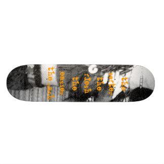 5696, the softer the flesh the easier the gash custom skate board