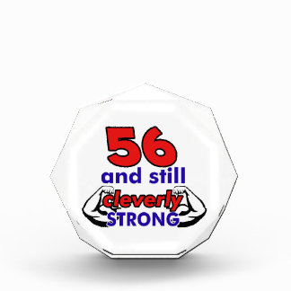 56 and still cleverly strong award