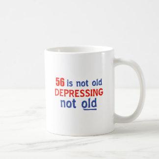 56 años de diseños del cumpleaños taza de café