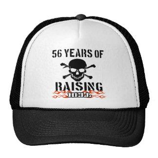 56 años de infierno de aumento gorros bordados