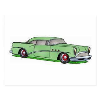 56 Buick 2 door Hardtop Postcard