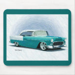'56 Chevy - arte Mousepad de Digitaces de la turqu