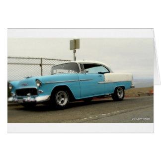 56 Chevy Belair Card