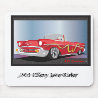 56 CHEVY LOWRIDER, 1956 Chevy Low Rider Mouse Pad