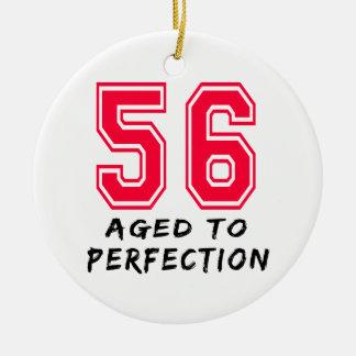 56 envejeció al diseño del cumpleaños de la perfec ornamentos para reyes magos