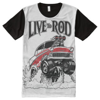 56 Gasser All-Over-Panel-T All-Over Print T-shirt
