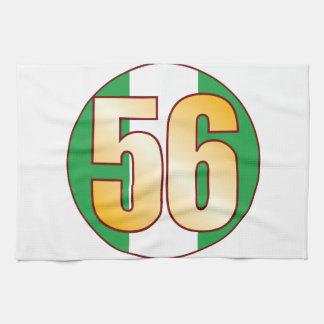 56 NIGERIA Gold Kitchen Towel