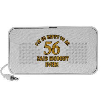 56 o aniversario del año