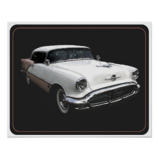 56 Olds 88 Poster