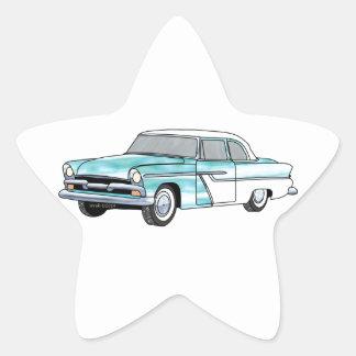 56 Plymouth Savoy Star Sticker