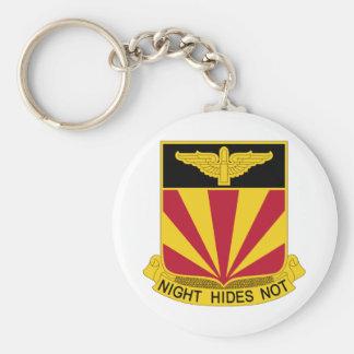 56th Air Defense Artillery Regiment Basic Round Button Keychain