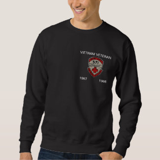 571st DUSTOFF ORIGINAL PATCH BLACK SWEATSHIRT